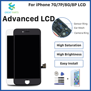 Image 1 - Voor Iphone 8 Plus Lcd Display Oem Incell Advance Hoge Kwaliteit Touch Screen Montage Vervanging Goede 3D Touch Gratis Schip