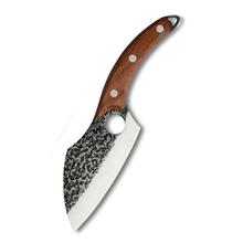 Adamaszek nóż do trybowania stal nierdzewna 6 Cal młotkiem wzór serbski De nóż do trybowania rzeźnia krojenie cięcie tasak noże narzędzie tanie tanio damask CN (pochodzenie) STAINLESS STEEL Ekologiczne Zaopatrzony Ce ue Lfgb Trybowanie noże Boning Knife 6 Inch 4Cr13 Stainless Steel