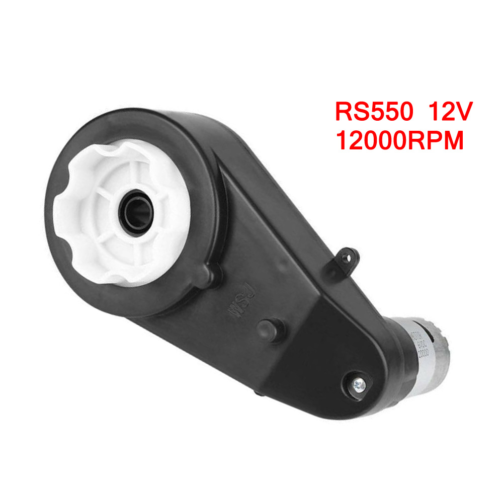 1 Pcs RS390 / RS550 Electric Gearbox Replace 12V 12000-20000RPM For Kids Car Toy Replacement Accessories image