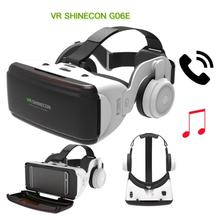 Original VR Virtual Reality 3D Glasses Box Stereo VR Google Smartphone,Bluetooth For IOS Cardboard Rocker Headset Android H S7L5
