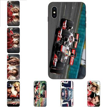 James Hunt Niki Lauda Competing Luxury Phone Case For Apple iPhone 4 4S 5 5S SE 6 6S 7 8 11 Plus X XS Max XR Pro Max image