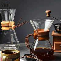 cold brew coffee maker pot Barista Classic Glass kettle reusable espresso Percolator Pour Over Machine kitchen accessories tools