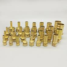 Mosiężna złączka rurowa łącznik miedziany łącznik męski złącze 4mm 6mm 8mm 10mm 12mm 19mm wąż BSP końcówka z króćcem 1 8 #8222 1 4 #8221 1 2 #8222 3 8 #8221 tanie tanio Mężczyzna Tuleja Odlewania Zmniejszenie Hexagon Barb PC Type 4mm 6mm 8mm 10mm 12mm 14mm 16mm 19mm 1 8 BSP 1 4 BSP 3 8 BSP 1 2 BSP