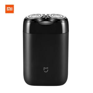 Image 1 - 2019 Xiaomi Mijia חשמלי מכונת גילוח 2 צף ראש נייד עמיד למים תער גילוח USB נטענת פלדה Mens לבית נסיעות