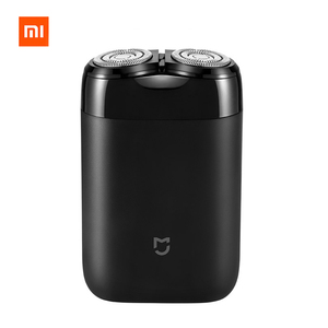 Image 1 - 2019 Xiaomi Mijia Electric Shaver 2 Floating Head Portable Waterproof Razor Shavers USB Rechargeable Steel Mens For Home Travel
