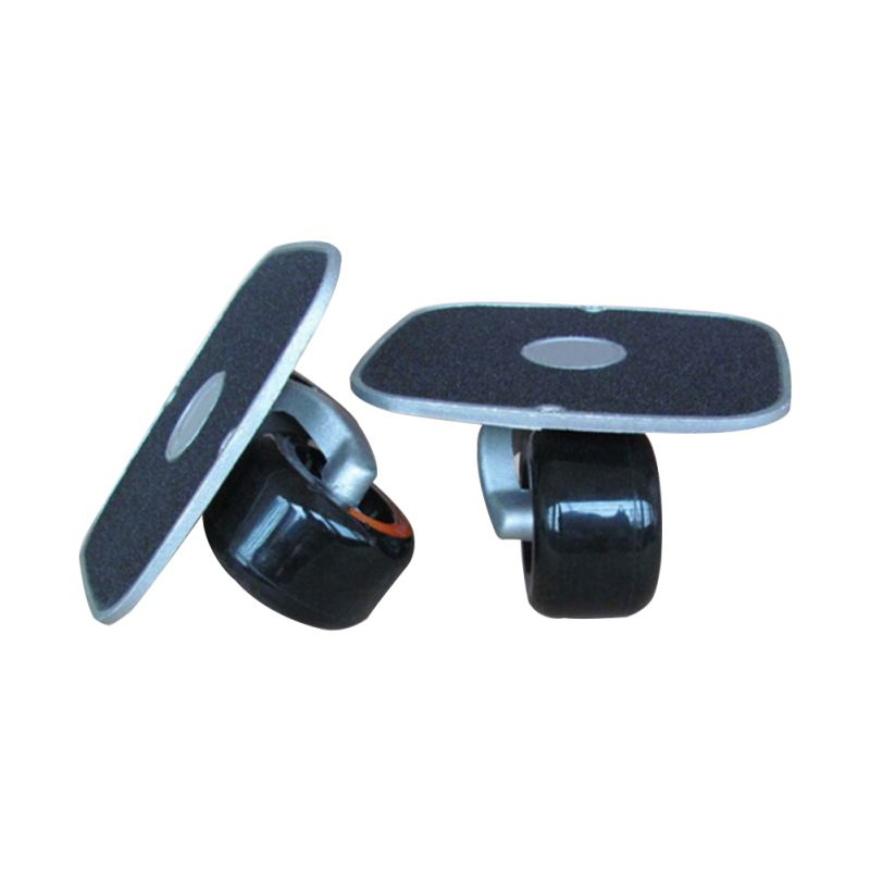 Drift Board Shock Resistant Portable Aluminum Alloy Split Skateboard Roller Drift Skates Plate With PU Wheels For Fitness