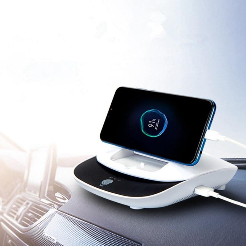 suporte do telefone do veiculo do purificador de ar do difusor do ion negativo do carro