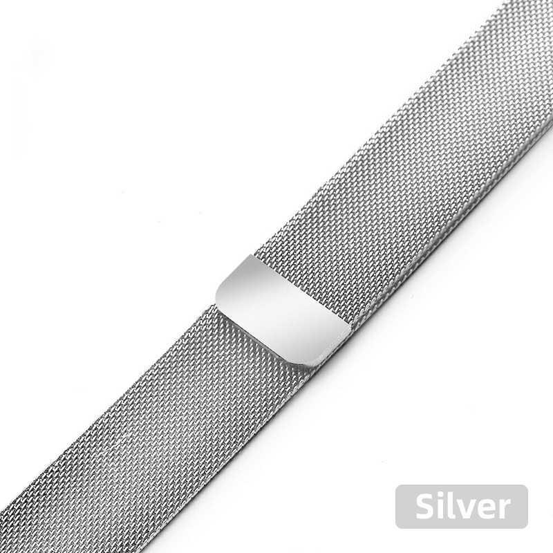 Correa de reloj Milanese para Apple Watch pulsera de acero inoxidable para iwatch Series 5/4/3/2/1 44mm/40mm 42mm/38mm correa de reloj