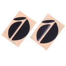 2 компл./упак. хорошее качество 0,6 мм мышь ножки мыши коньки для Logitech MX518 /G400 /G400S мышь черная