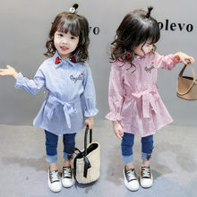 Get more info on the New Fashion Striped Long Sleeve Shirts for Girls Blouse Designs Toddler Girl Shirts Kids School Uniform Shirts Tops for Girls
