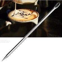 2 шт. бариста капучино эспрессо кофе украшения латте искусство ручка вскрытия иглы Творческий Высокое качество Необычные кофе палочки инструменты