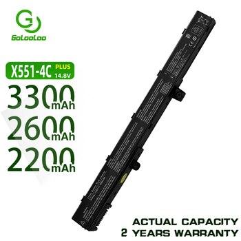 Golooloo Batterie D'ordinateur Portable A41N1308 A31N1319 0B110-00250100 X551M Pour Asus X451 X551 X451C X451CA X551C X551CA Série
