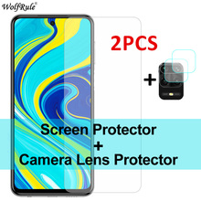 2Pcs Screen Protector For Xiaomi Redmi Note 9S Glass 9 8T 8 Pro 7 Tempered Glass Protective Phone Film For Redmi 9A 9C 8A 7A 6A