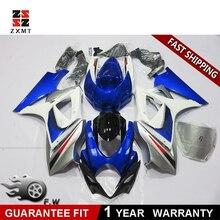 цена на ZXMT NEW Painted ABS Fairing kit Bodywork Fit For SUZUKI GSXR 1000 2007 2008 Orange Black Blue White Drilled Molded