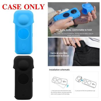 Suitable For Insta360 ONE X2 panoramic camera silicone case J4I6