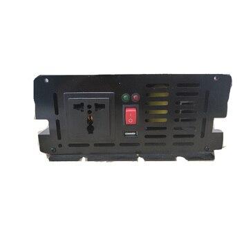 Off Grid Solar Inverter 1500Watt (3000w peaking) 12/24/48VDC to 110/220VAC Pure Sine Wave converter 3