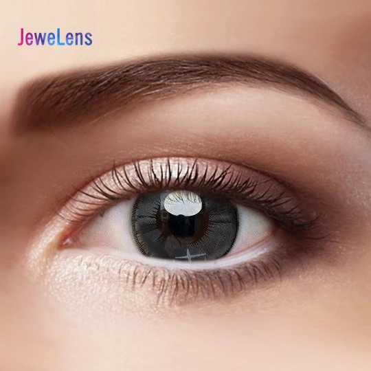 Lente colorida da cor das lentes de contato de jewelens para a série colorida da estrela do gradiente do cosmético con dos olhos