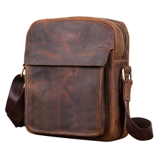 Genuine Leather Men's Briefcase for Business Casual Tote Fashion Crzay Messenger Bag Male Luxury Handbag Cross Body Shoulder Bag 2016 women bag new fashion hit color handbag lady luxury brand genuine leather shoulder messenger bag business casual tote a0050
