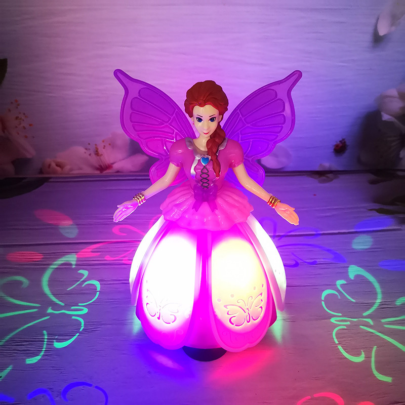 Electric Flashing Sounding Princess Danceing Girls Toy Funny Beautiful Pretend Play Kids Toy Educational Toys For Children