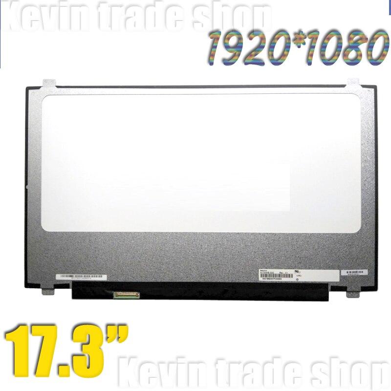 17.3 inch polegadas 120hz fhd ips 40pin portátil tela lcd b173han01.4 N173HHE-G32 N173HCE-G32 led display matriz