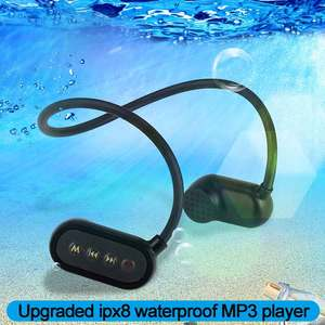 Image 5 - Najnowszy APT X V31 z przewodnictwem kostnym Bluetooth 5.0 z odtwarzaczem MP3 IPX8 wodoodporny basen odkryty słuchawki sportowe odtwarzacz muzyczny MP3