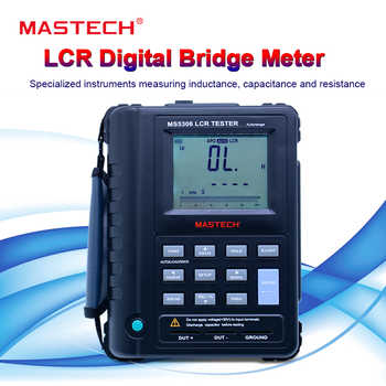 Mastech MS5308 LCR Meter Portable Handheld Auto Range LCR tester High-Performance 100Khz - DISCOUNT ITEM  25% OFF All Category