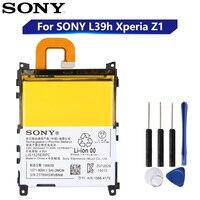 Substituição original bateria sony para sony l39h xperia z1 honami SO-01F c6902 c6903 lis1525erpc genuíno telefone bateria 3000 mah