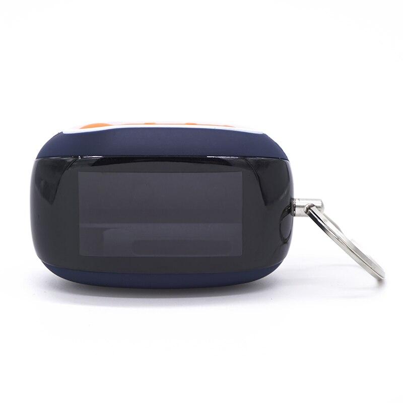 Novo caso b92 para starline b92 b94 b62 b64 2-way lcd controlador remoto chave fob corrente starline carro