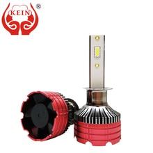 KEIN 2pcs H7 H4 H1 Fan Cooling for Trucks Car Led Headlight Fog Light Car Accessories External HeadLamp 24v Near and Far Oneness near far