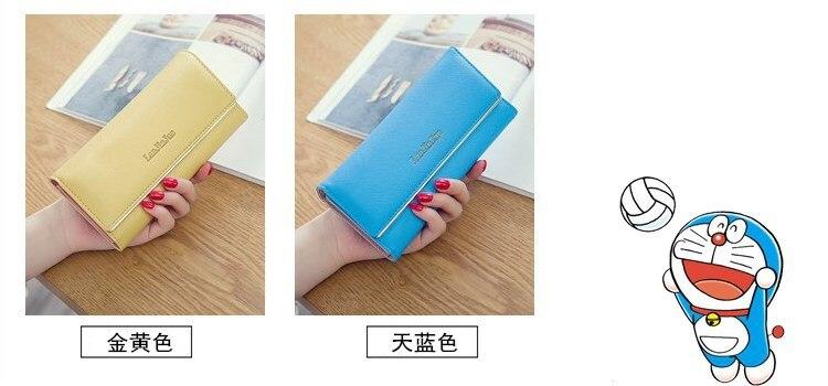 Tri-fold Carteira Bolsa Carteira das Mulheres