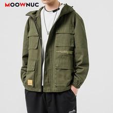 Kpop Jackets Outerwear Hombre Denim Coats 2020 MOOWNUC Hip Hop  Fashion Loose Solid  Men's Clothes Spring Dress Boys Casual MWC