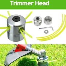 Grass-Trimmer-Head Mower-Accessories Brush-Cutter Cutting-Line Aluminum with Head-Lawn