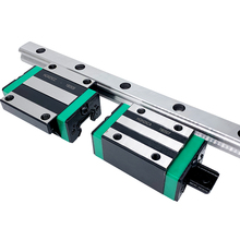 free shipping 2pc HGR15 linear guide rail linear rail L+4pc linear block carriage HGH15CA / HGW15CC linear bearing CNC parts 1pc sliding block carriage fit for hg25 linear guide rail cnc parts linear rails and bearings geleiderail