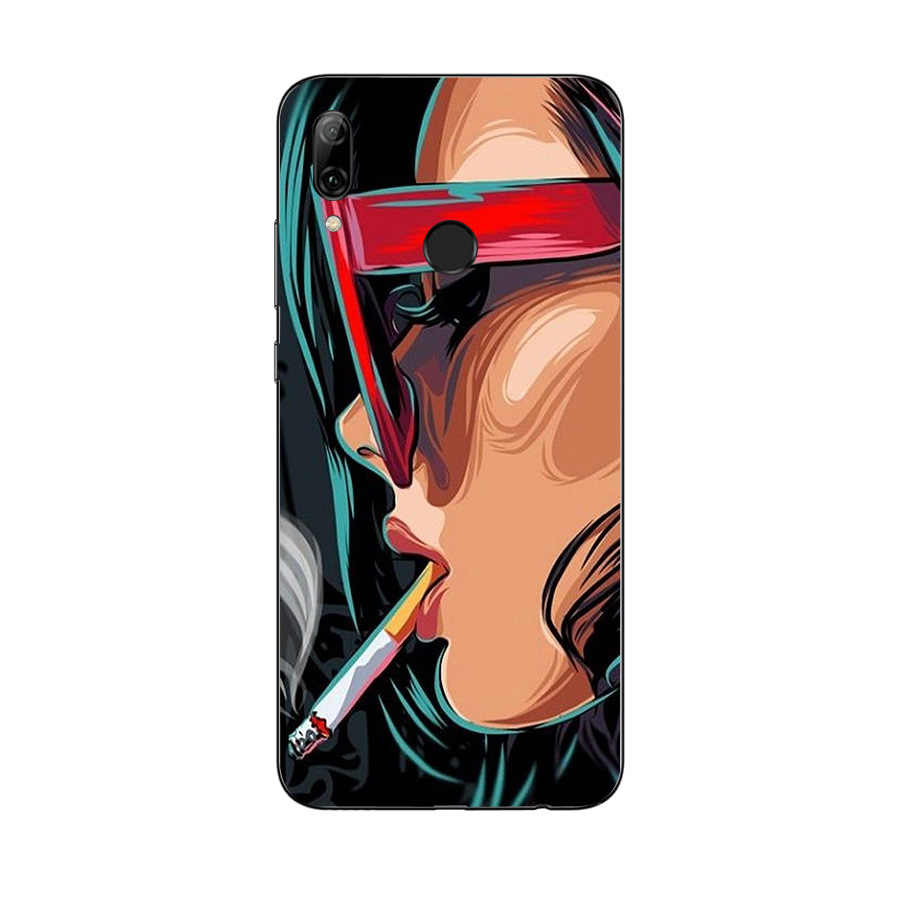 Caso molle di TPU Per Huawei P di Smart 2019 Sacchetti Del Telefono Coque per Huawei P di Smart 2019 Fundas Copertura Borse Hawei P di Smart 2019 Del Telefono Custodie
