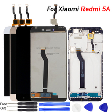 Original For Xiaomi Redmi 5A LCD Display Screen with Frame Touch Digitizer LCD Display for Redmi 5A Assembly Repair Parts цена в Москве и Питере
