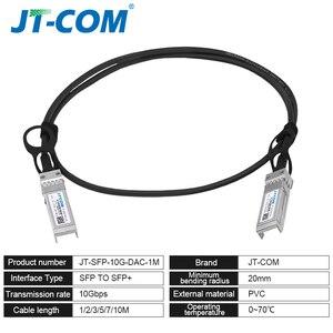 Image 3 - 10Gb SFP+ DAC Twinax Cable, Passive, Compatible with Cisco SFP H10GB CU2M, Ubiquiti, Intel, Mikrotik, Netgear, D Link, 1m,2m,5m