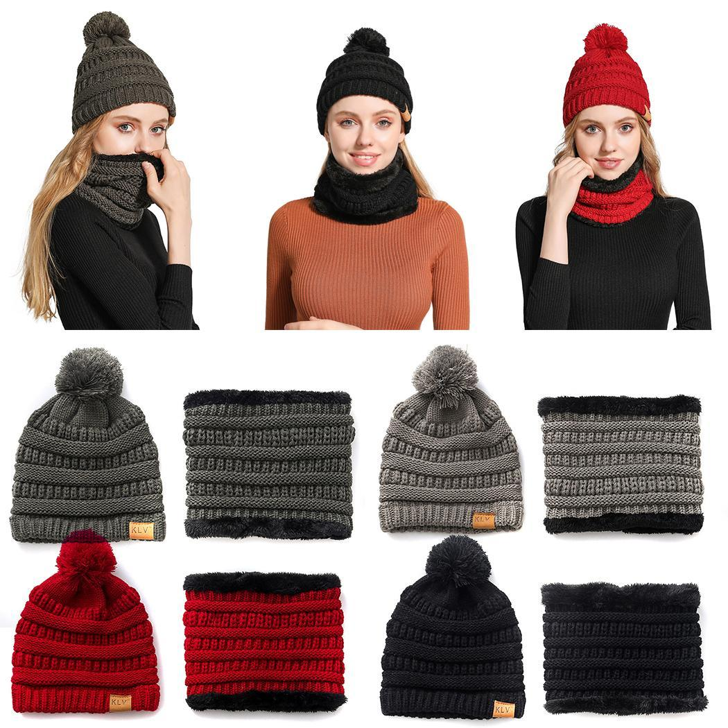 Parent-child Winter Casual Tough Headwear Hats Scarf 1 X Hat, 1 X (for Kids) 1 X Hat, 1 X (for Adults) Set