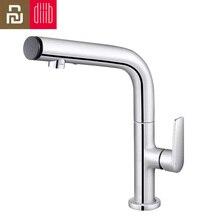 2020 Youpin Dabai Diiib Bathroom Basin Sink Faucet Gargle Brushing Cold & Hot Bathtub 2 Mode Mixer 360° Tap