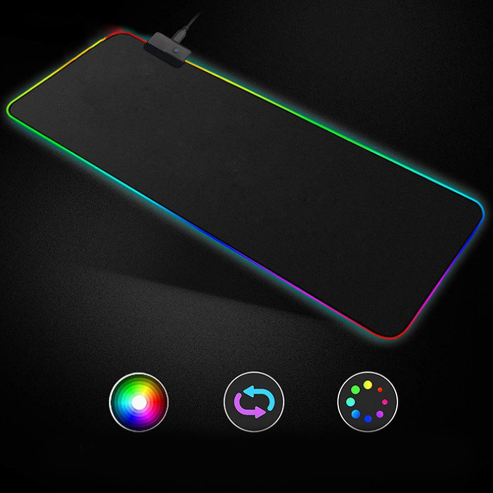 RGB <font><b>Mouse</b></font> <font><b>Pad</b></font> Gaming <font><b>Mouse</b></font> <font><b>Pad</b></font> <font><b>Large</b></font> Mousepad <font><b>XXL</b></font> Computer Mousepad RGB XL <font><b>Mouse</b></font> <font><b>Pad</b></font> Gamer Mousepad Keyboard <font><b>Pads</b></font> USB Mause Mat image