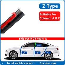 Door seal strip car rubber reverse Z Type Noise Insulation Weatherstrip Sealing Rubber Strip Trim Auto Rubber Seal strip