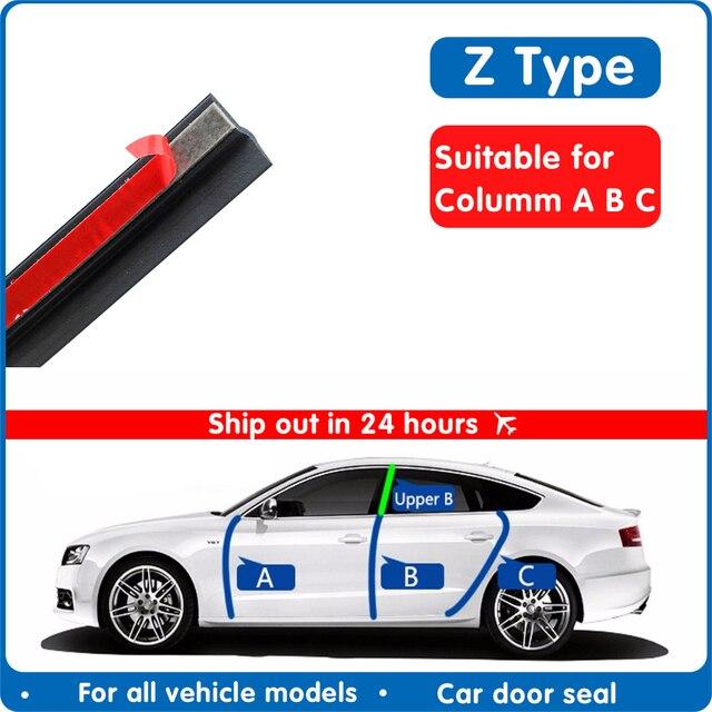 Tür dichtung streifen auto gummi reverse Z Typ Noise Isolierung Dichtungsdichtung Gummi Streifen Trim Auto Gummi Dichtung streifen