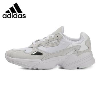 Original New Arrival  Adidas Originals Falcon W Women's Running Shoes Sneakers official new arrival adidas originals men s skateboarding shoes sneakers classique shoes platform breathable