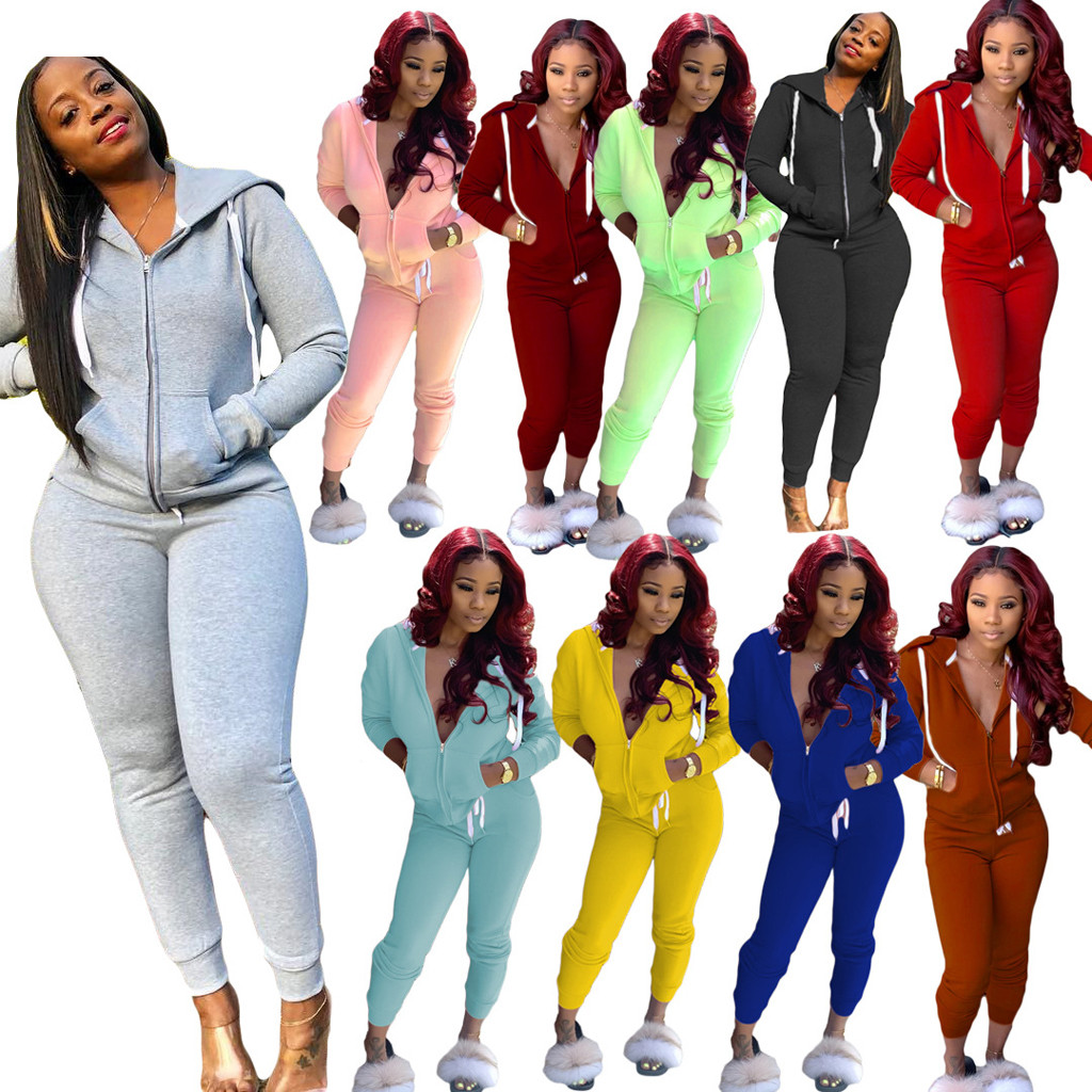 Women Clothing Costumes Joggers Pants Tracksuit Plus Size Track Suits Leisure Sweatsuits Jogging Femme Outfits Special Discount 438623 Cicig