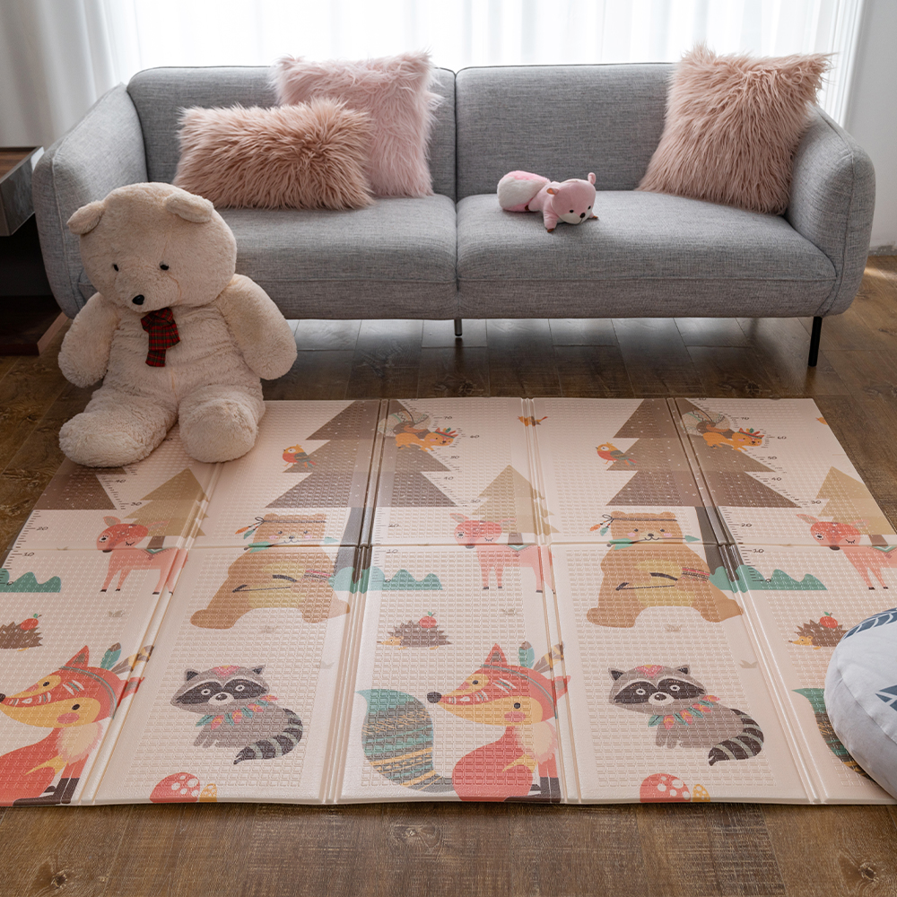 Infantrain Baby Play Mat Foldable Rug Climbing Carpet Environmentally Blanket Kid Mats For Children Game Pad Thickened Playmat
