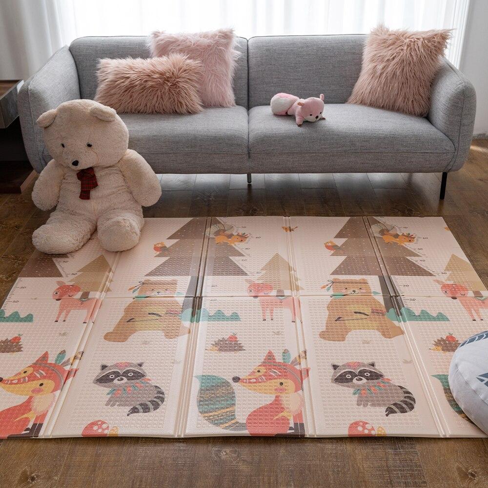 Tapis de jeu bébé Infantrain tapis pliable tapis d'escalade couverture écologique tapis enfant pour enfants tapis de jeu épaissi tapis de jeu