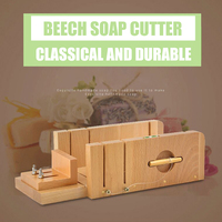 Adjustable Wooden Soap Cutter Wire Slicer DIY Homemade Soap Making Tool Bar Soap Loaf Cutter Kit With Beveler Planer and Repair