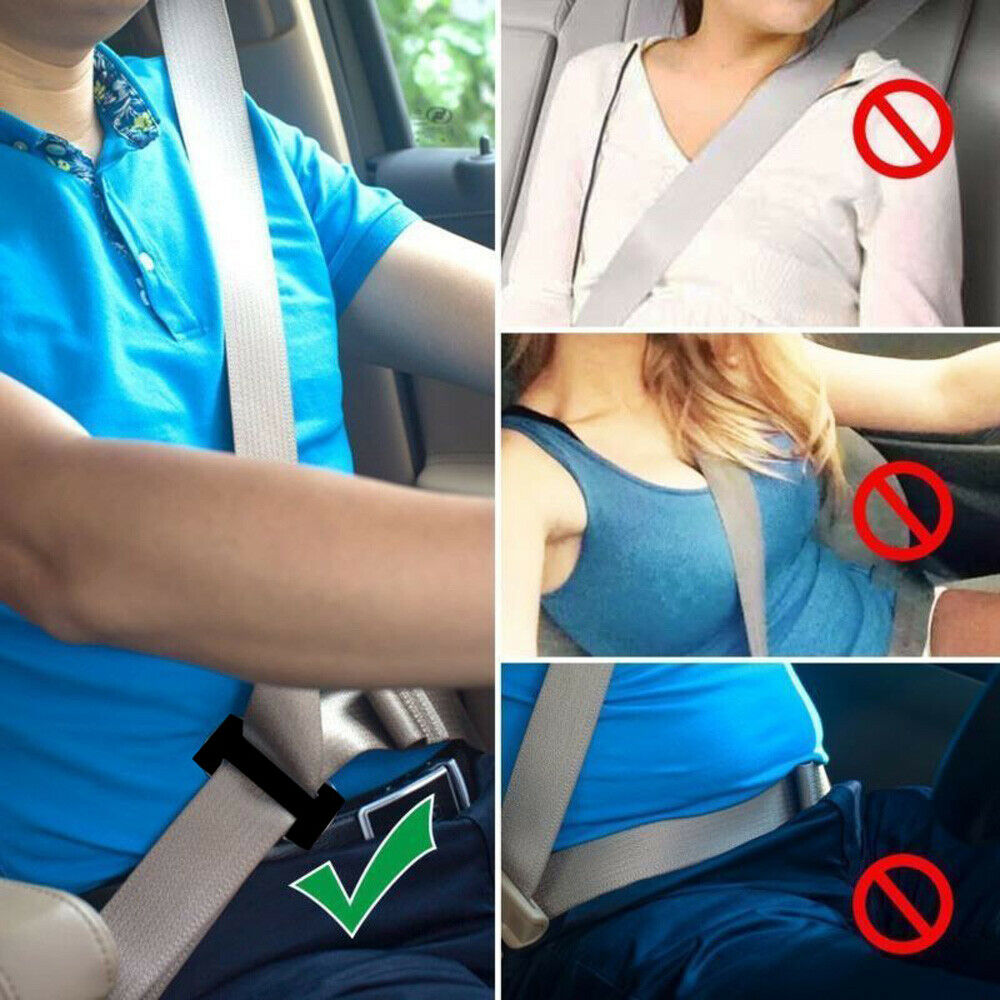 Image 5 - 38MM/52MM Car Metal Safety Seat Belt Adjuster Automotive Locking Clip Belt Strap Clamp Shoulder Buckle For Adult Children-in Seat Belts & Padding from Automobiles & Motorcycles