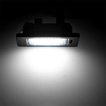 2pcs LED Car License Plate Light For BMW 3 series E90 Sedan E91 Touring E92 Coupe E93 Convertible M3 New LED License Plate Light image