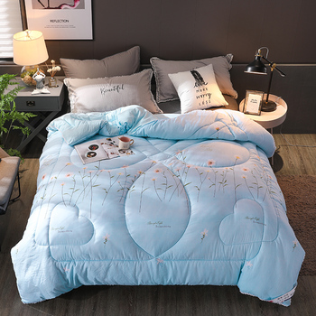 High Quality And Luxury Quilts Fresh Style Quilt King Queen Twin Full Size Thicken Warm Core Quilt All Seasons Comforters
