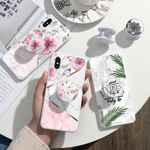 Marble Silicone TPU Phone Case For Xiaomi Redmi Note 8 8T 7 S2 6 5 Pro Plus 6A 7A 8A Stand Holder Cover Redmi K30 K20 Pro Fundas redmi 6a case etui xiaomi redmi 6 6a 7 7a kawaii silicone cover case for funda xiaomi redmi k20 xiomi f1 phone case stand holder